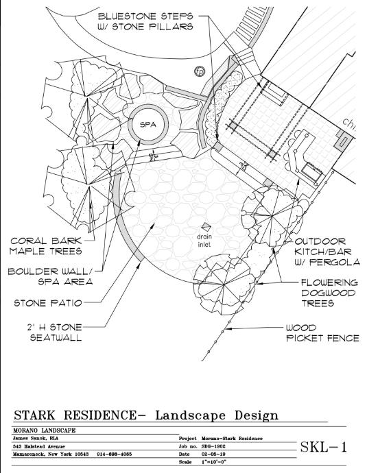 Stark Residence (Westchester landscape architecture)