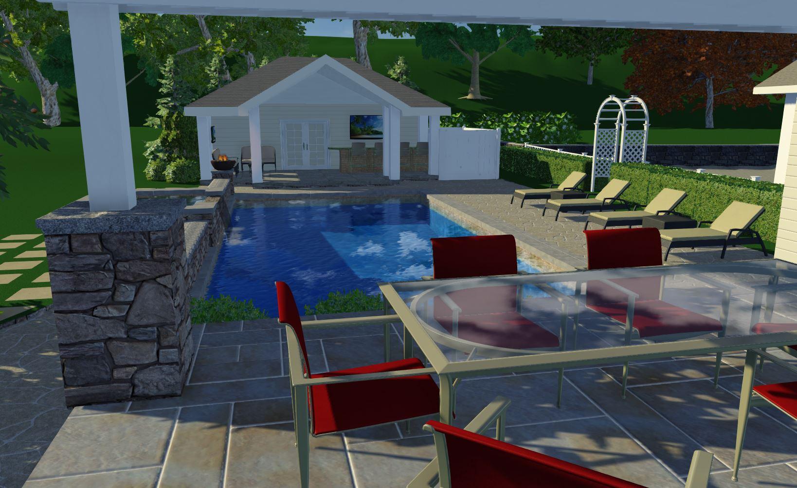 Viggiano Cabana | Westchester County Landscape Architect